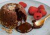 Miso chocolate fondant