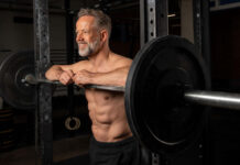 a man over 40 learning how to get a six pack