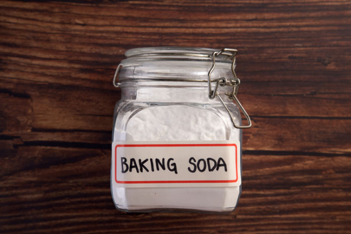 Using baking soda to clean
