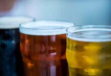An image of multi-coloured beers, unusual beers