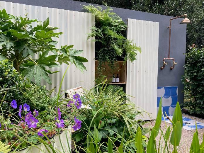 Chelsea garden show 2021- hot tin roof garden
