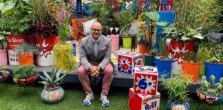 Pop Street Garden with designer John McPherson, RHS Chelsea Flower Show 2021