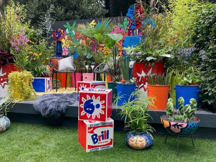 Chelsea garden show 2021- pop street garden