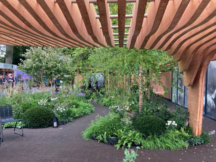 Chelsea flower show- Florence Nightingale garden