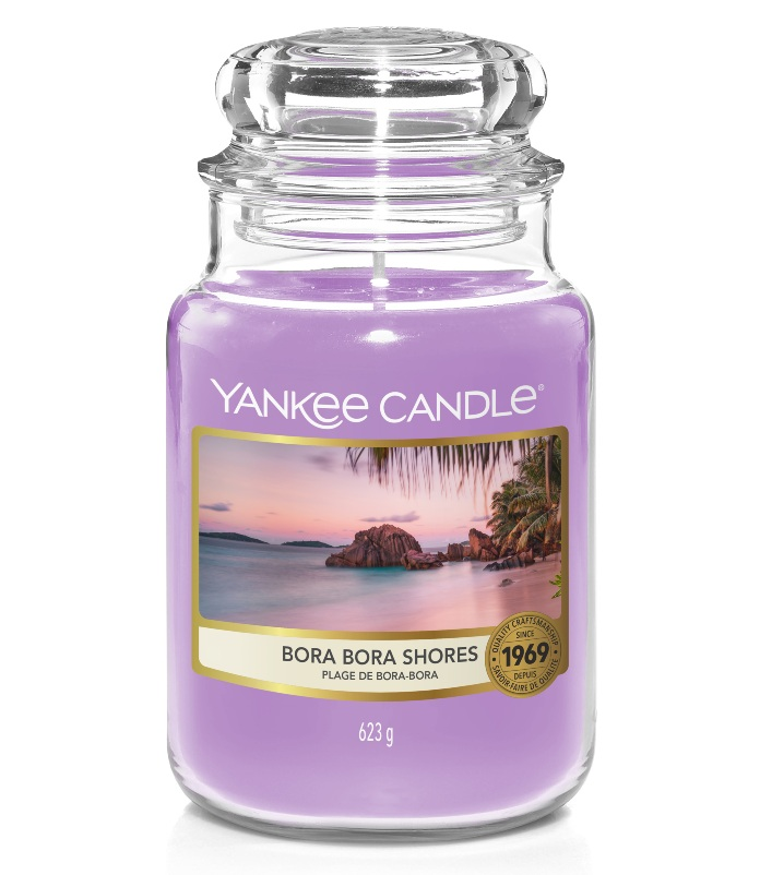 Instagram candles- Yankee Candle Bora Bora Shores Original Large Jar Candle