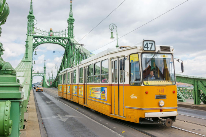 Most beautiful trams in the world- Budapest