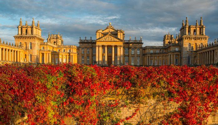 Autumnal colours at Blenheim Palace (Blenheim Palace/PA)