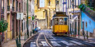 Most beautiful trams in the world- tram in Lisbon