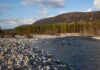 The River Feshie running through Glenfeshie in the Cairngorms National Park, Scotland