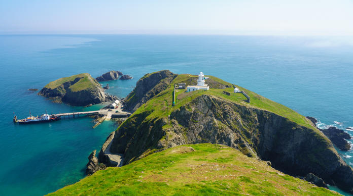 Scuba diving locations - Lundy Island