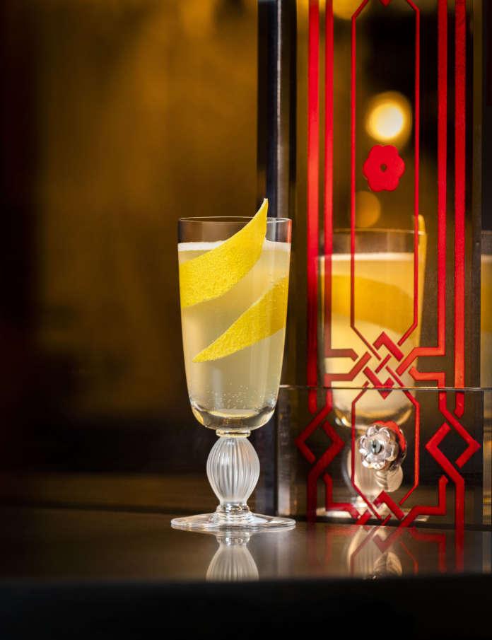 Claridges cocktail French 75