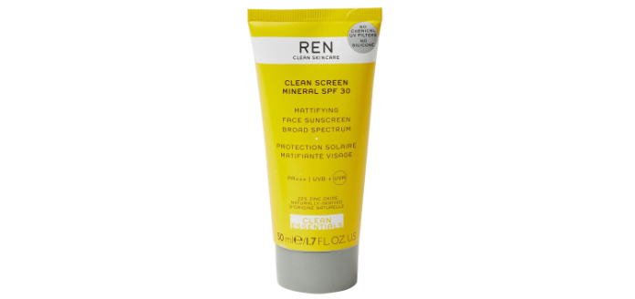 REN Clean Screen Mineral Sunscreen SPF 30