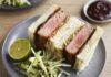 Tuna katsu sandwich