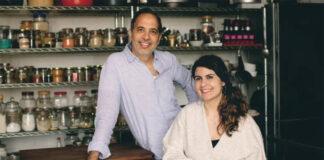 Yotam Ottolenghi and Noor Murad